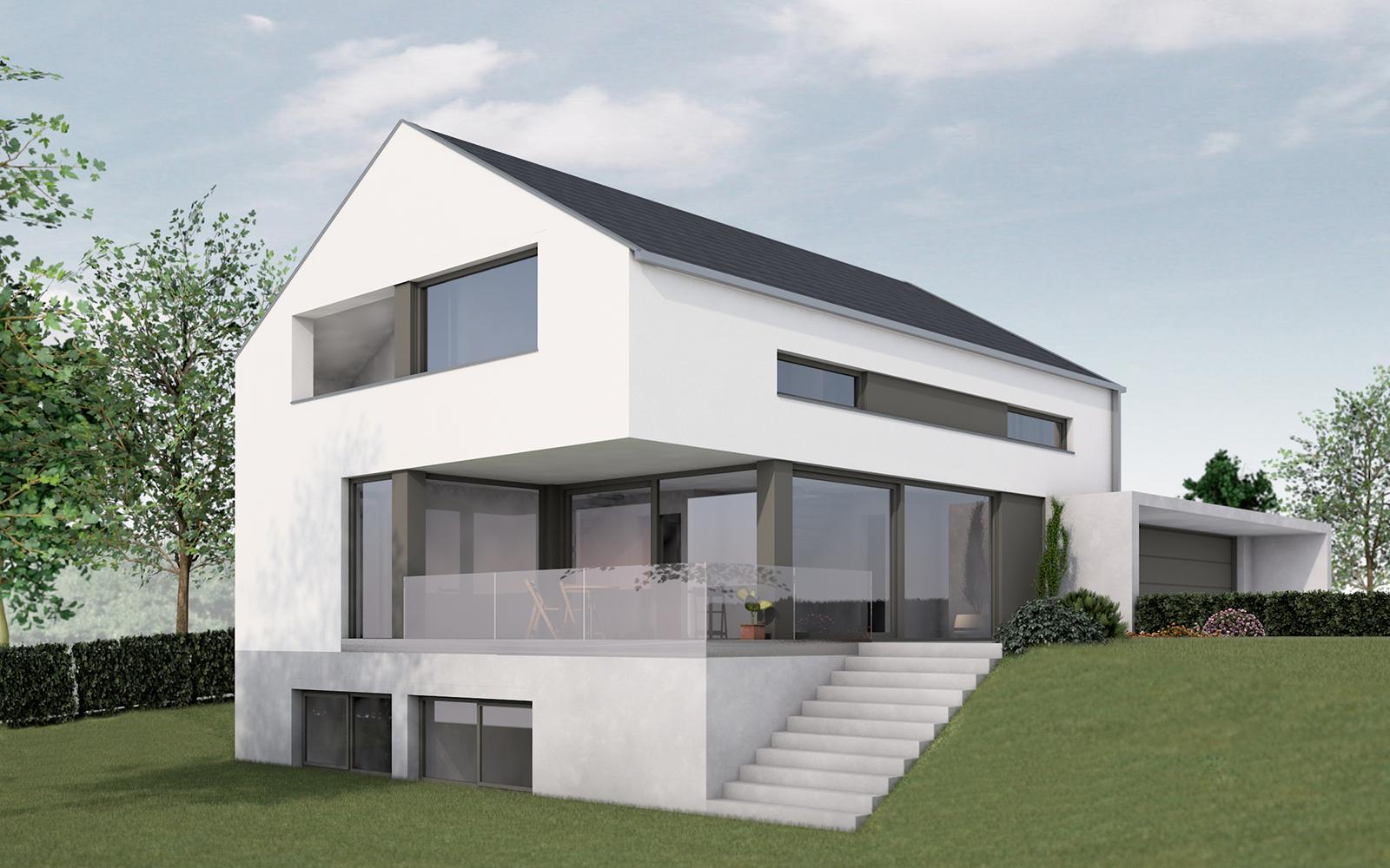 Home for Einfamilienhaus modelle